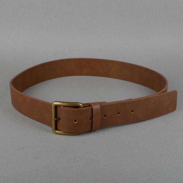 brixton tannery leather look belt light brown skate