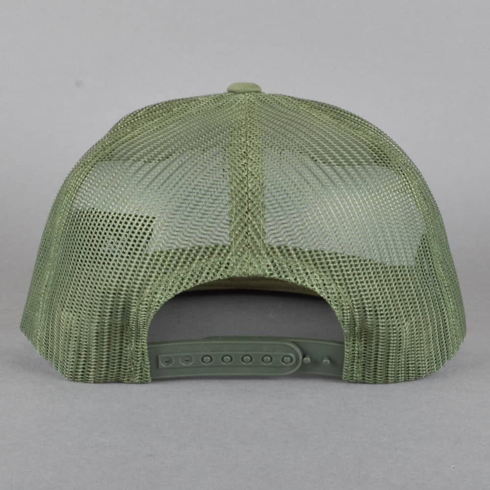 Brixton Wheeler Mesh Cap - Olive - SKATE CLOTHING from Native Skate ... 62609f89fa1