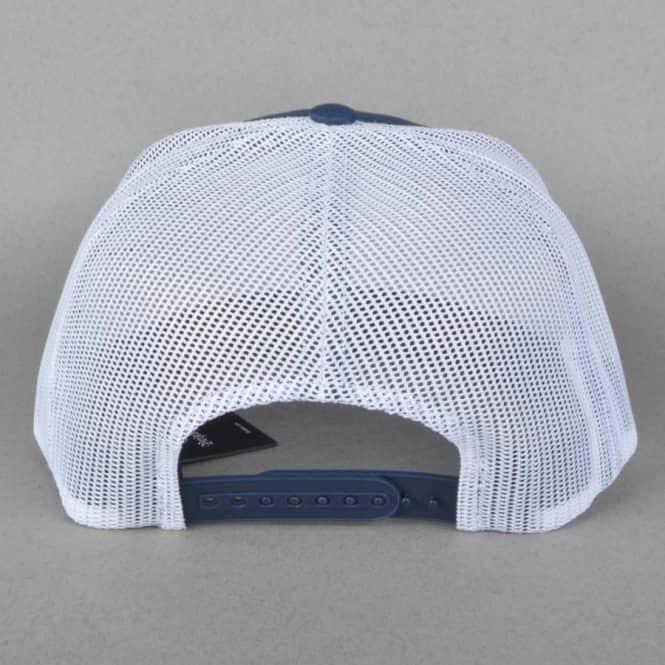 64920cbb Wheeler Snapback Mesh Cap - Navy/White