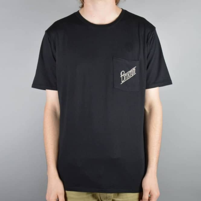 Brixton Wilson Pocket T-Shirt - Black