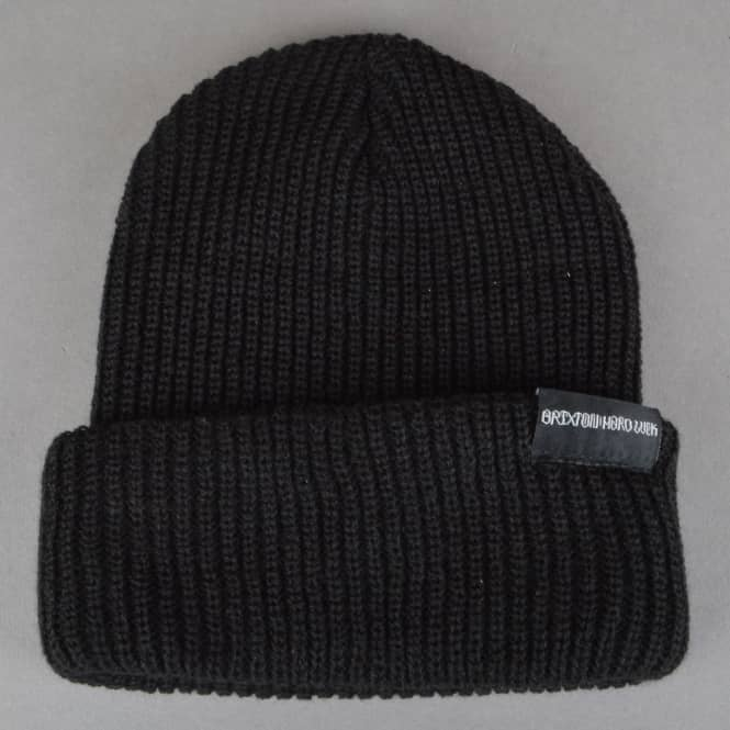 Brixton x Hard Luck MFG Prayer Beanie - Black