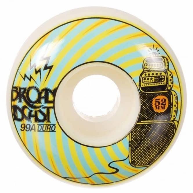 Broadcast Wheels Broadcast Repeaters Skateboard Wheel 52mm