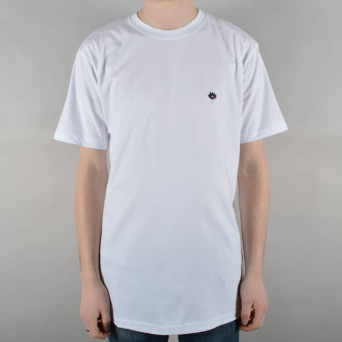 magenta skateboards brode skate t shirt white skate clothing from native skate store uk. Black Bedroom Furniture Sets. Home Design Ideas