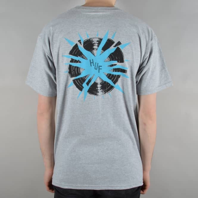 HUF Broken Record T-Shirt - Athletic Heather