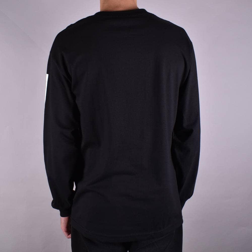 Bronson Skateboard T Shirt Racing Stripes Black