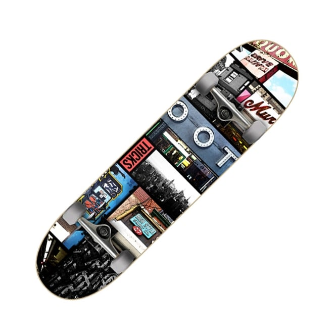 Tricks Skateboards Bronx Complete Skateboard 8.0