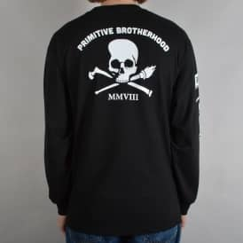 Brotherhood Longsleeve T-Shirt - Black