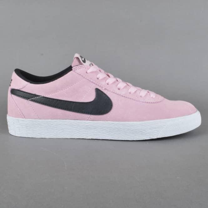 reputable site 1af0c 4b4ff Bruin Zoom PRM SE Skate Shoes - Prism Pink Black-White