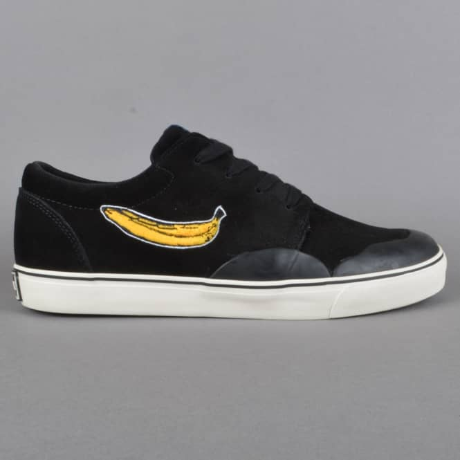 Consolidated Skateboards BS Drunk 4's Skate Shoes - Black