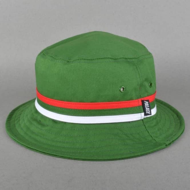 db1ec28181c1 Palace Skateboards Bucket Hat - Green Italia - SKATE CLOTHING from Native  Skate Store UK