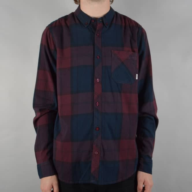 Element Skateboards Buffalo Long Sleeve Shirt - Napa Red