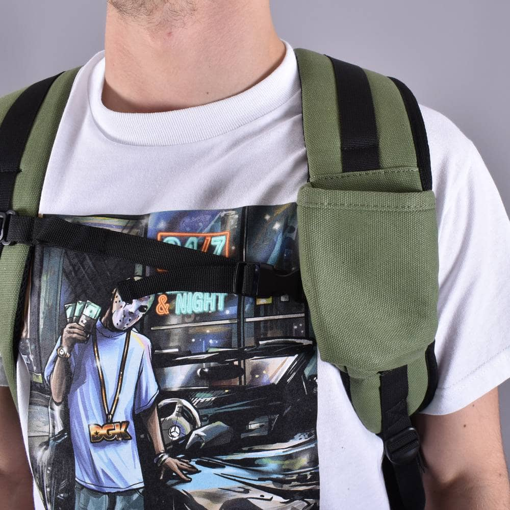 BUMBAG SCOUT BACKPACK COLLIN PROVOST GREEN