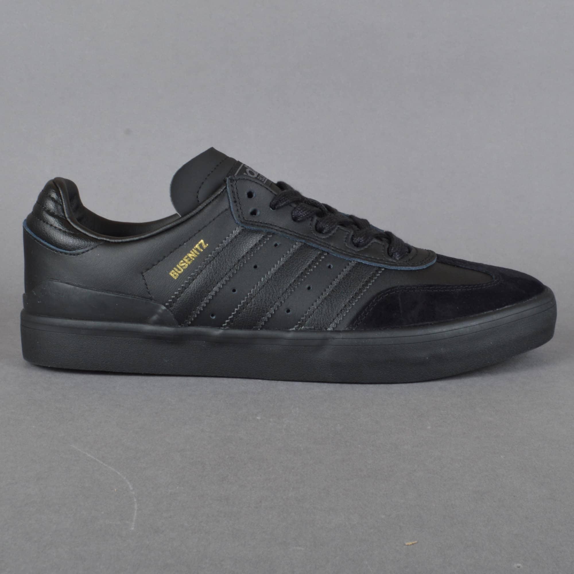 Adidas Skateboarding Busenitz Vulc Samba Edition Skate Shoes -  CBLACK/CBLACK/GRDEDG - SKATE SHOES from Native Skate Store UK