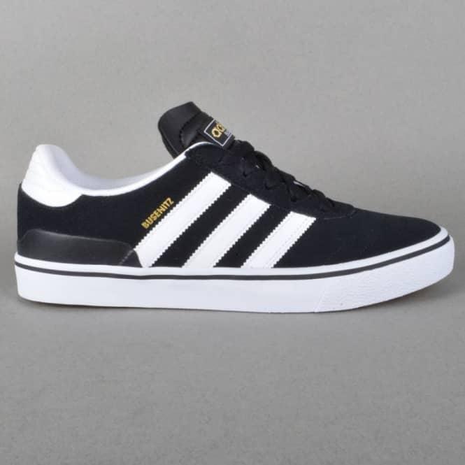 0d03b6126ccbe Adidas Skateboarding Busenitz Vulc Skate Shoes - Black1 Running ...