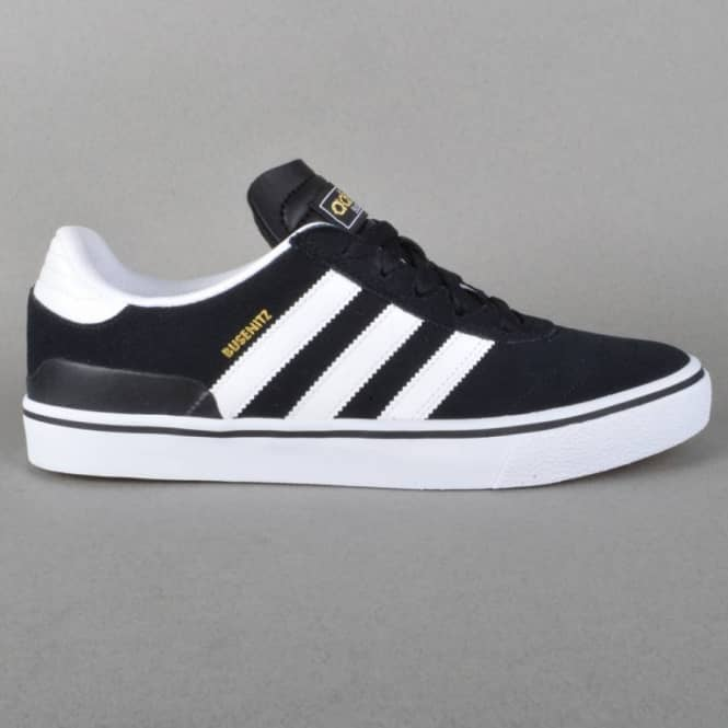 more photos eb3c1 57f6f Busenitz Vulc Skate Shoes - Black1 Running White Black1