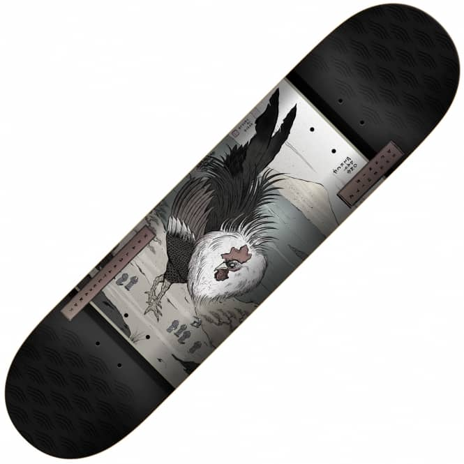 Real Skateboards Busenitz Zodiac LTD (Black) Skateboard Deck 8.06