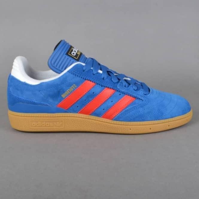 newest 72090 c2fa9 Busentiz Skate Shoes - EQT Blue/Scarlett/FTW White