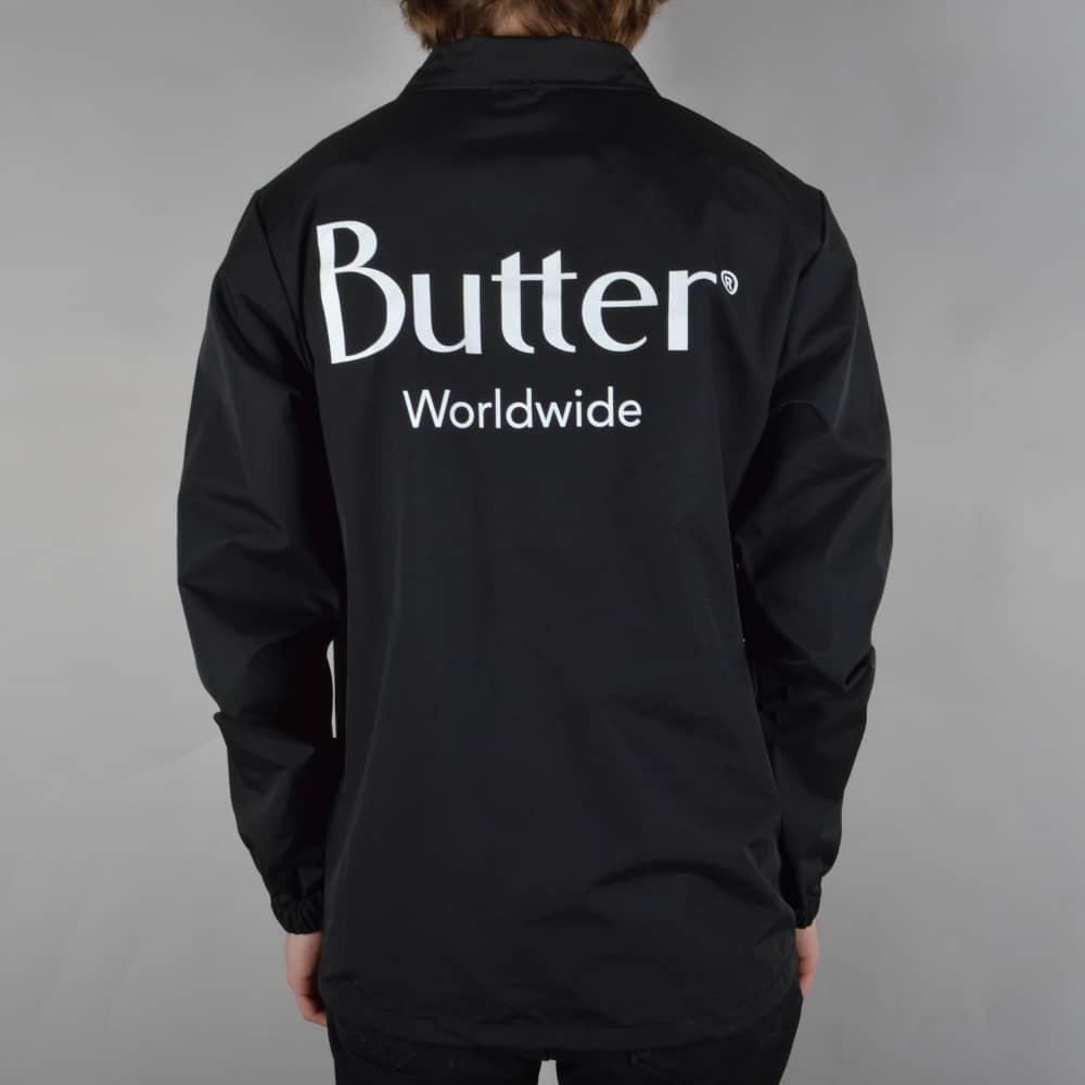 Black t shirt hoodie - Classic Logo Coach Jacket Black