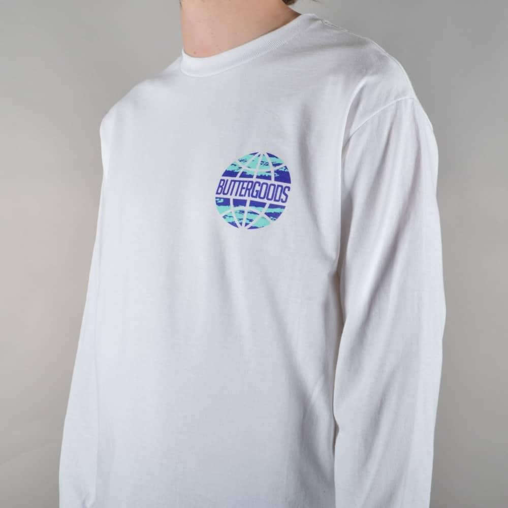White t shirt express - Express Worldwide Longsleeve T Shirt White