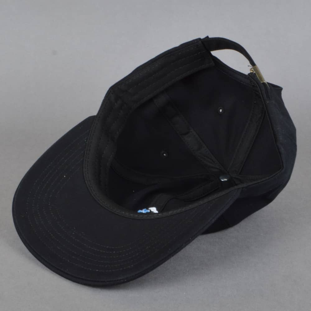 Butter Goods Golf Strapback Cap - Black - SKATE CLOTHING from Native ... c7adfe842586