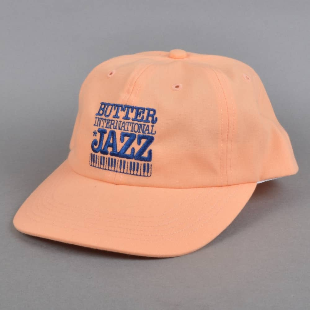 bbd37314a0e Butter Goods Jazz Snapback Cap - Peach - SKATE CLOTHING from Native ...