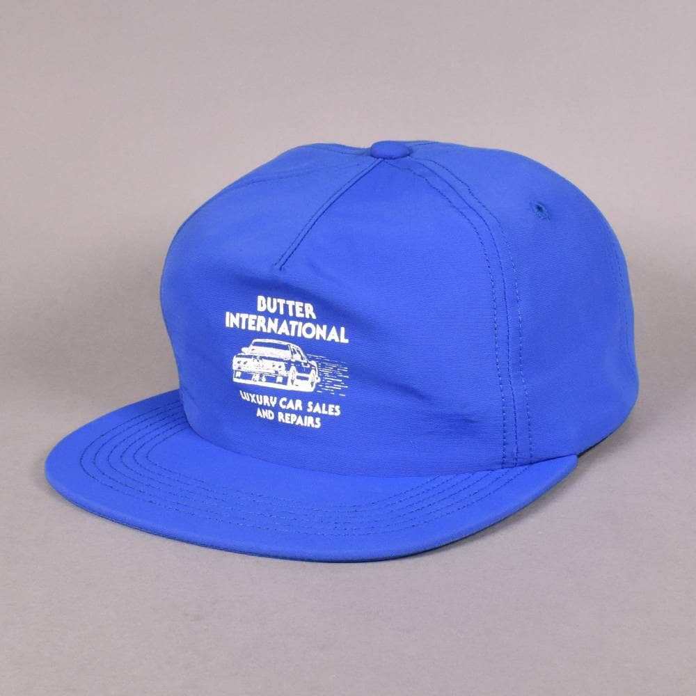 3f531b1fe96 Butter Goods M3 Snapback Cap - Royal Blue - SKATE CLOTHING from ...