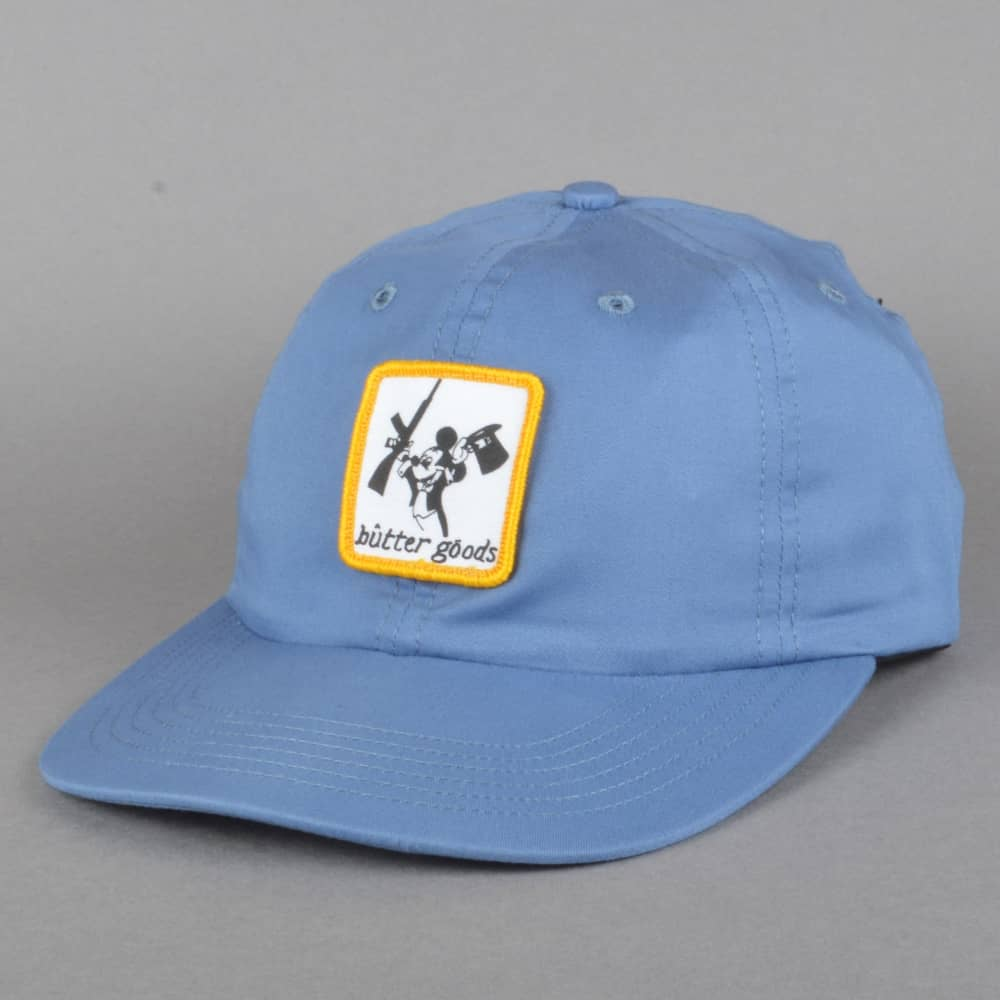 d2db200f5ad Butter Goods Mickey Strapback Cap - Blue - SKATE CLOTHING from ...