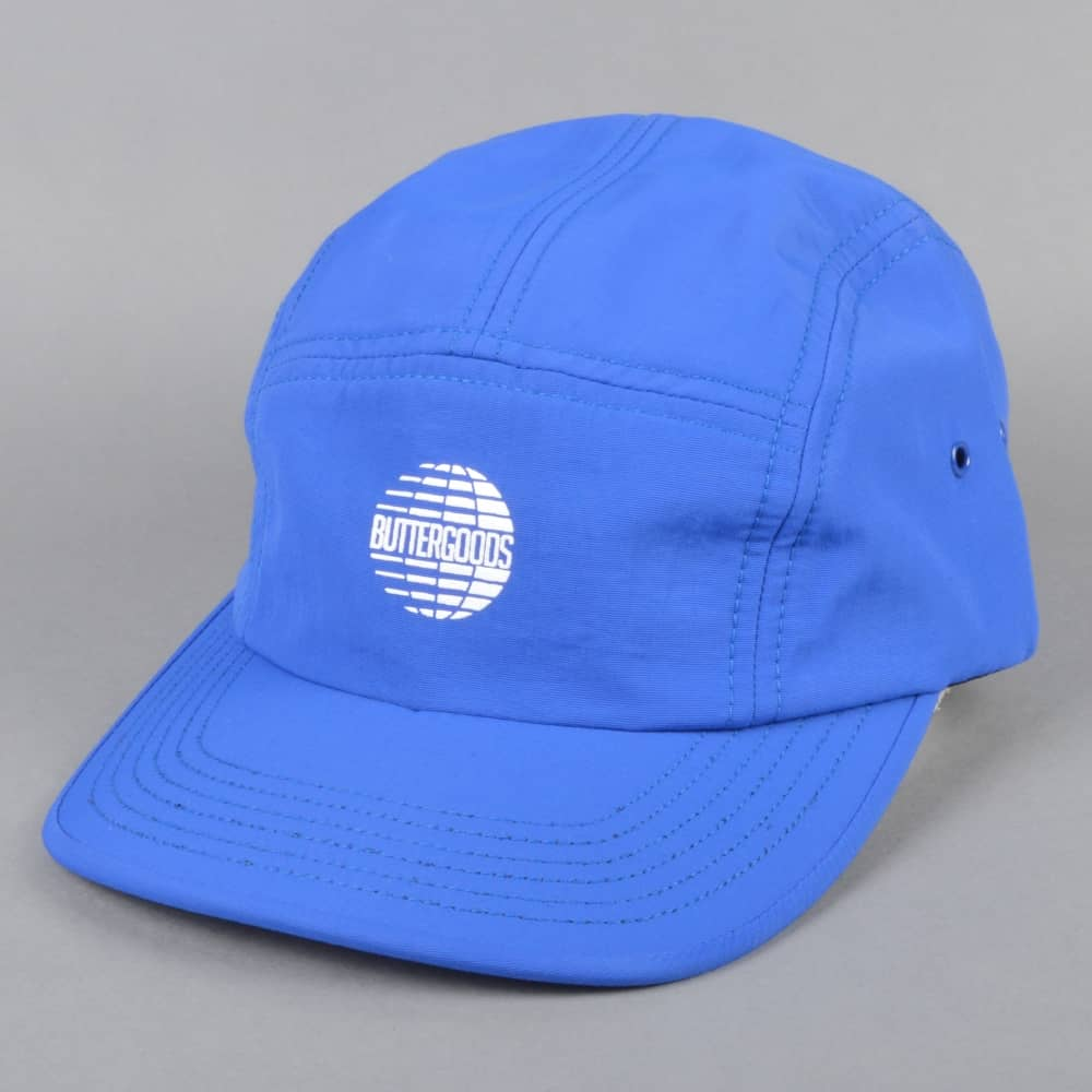 475bbe7e162 Butter Goods Multinational 5 Panel Cap - Royal Blue - SKATE CLOTHING ...