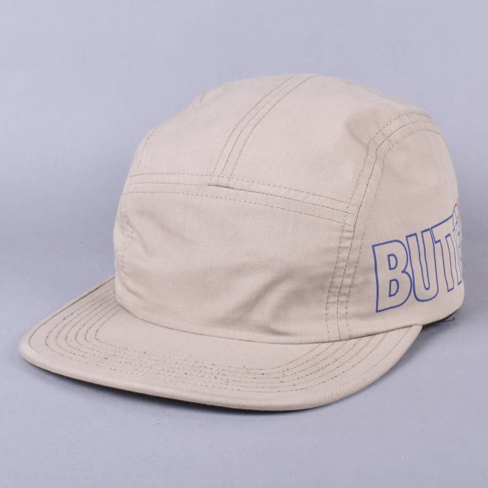 ef1679bd0af Butter Goods Side 5 Panel Cap - Khaki - SKATE CLOTHING from Native ...