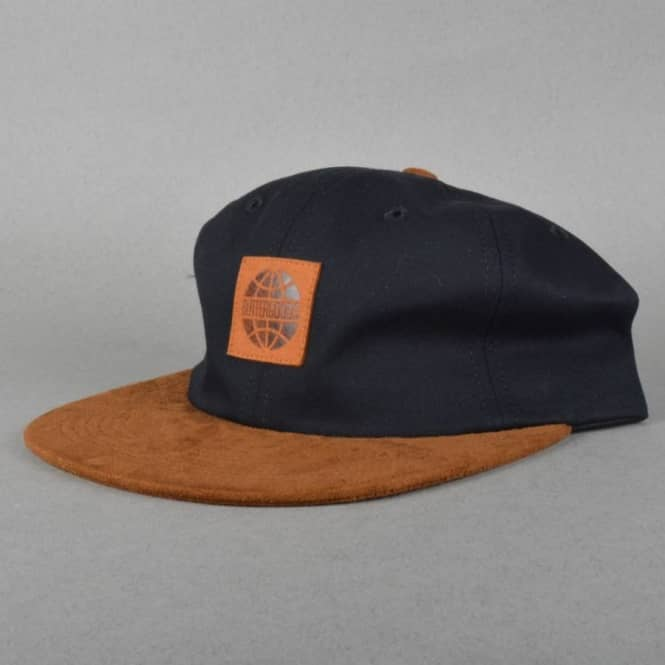 837a562eb4d Butter Goods Buttergoods Woods 6 Panel Strapback Cap - Black - Caps ...