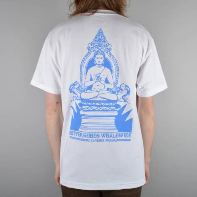 Butter Goods Meditation Skate T-Shirt - White