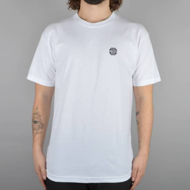 Butter Goods Minimal Worldwide T-Shirt - White