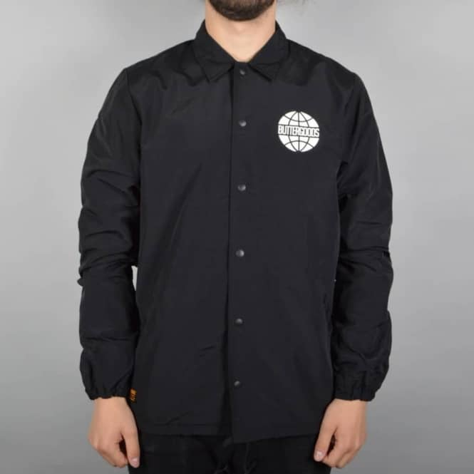 Butter Goods Team Jacket - Black