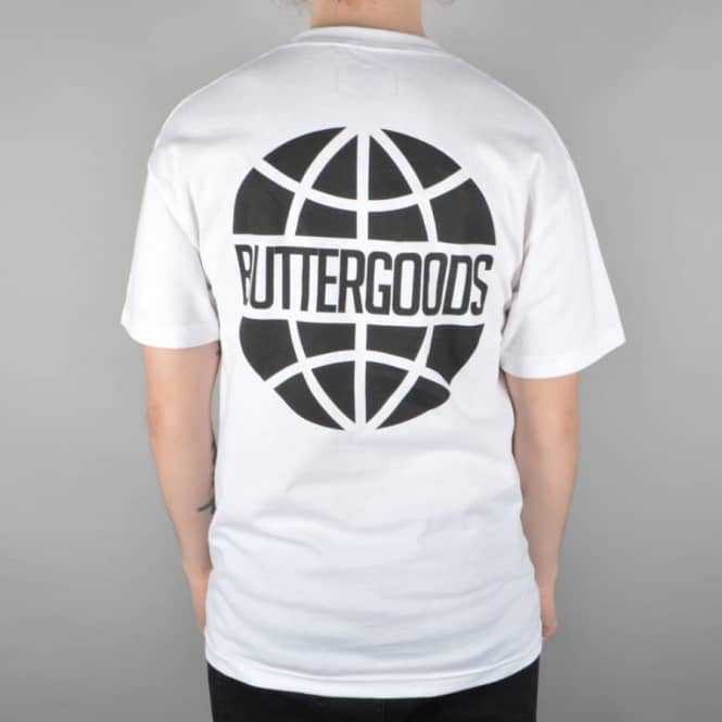 Butter Goods Worldwide Logo T-Shirt - White