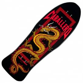 Powell Peralta Caballero Chinese Dragon Black Series 9 Bones Brigade Reissue Skateboard Deck 9.952""
