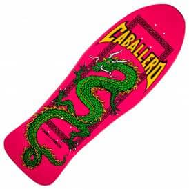 Caballero Chinese Dragon Pink Reissue Skateboard Deck - 10.0