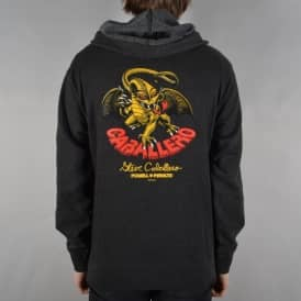 Caballero Dragon Pullover Hoodie - Charcoal Heather