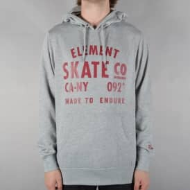 Calibur Pullover Hoodie - Grey Heather