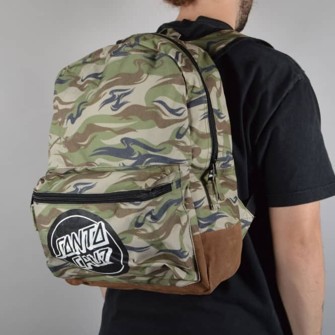 Santa Cruz Skateboards Camo Dot Backpack - Camo