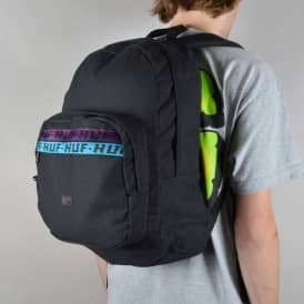 Canvas Utility Backpack - Black