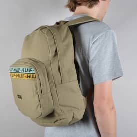 Canvas Utility Backpack - Olive