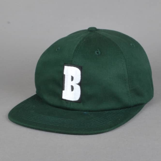 Baker Skateboards Capital B Strapback Cap - Forest Green