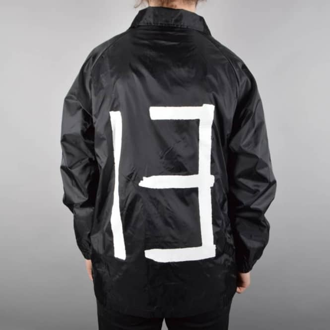Car 13 Wheels Car 13 Coach Jacket - Black