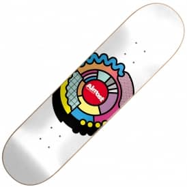 Almost Skateboards Center Block Skateboard Deck 8.125''
