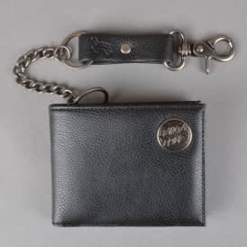 Chain Dot Wallet - Black