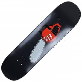 A Third Foot Skateboards Chainsaw Skateboard Deck 8.5''
