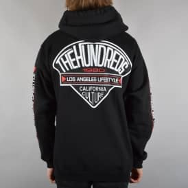 The Hundreds Chapters Zip Hoodie - Black