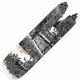 Heroin Skateboards Chet Childress Cabin Skateboard Deck 8.5""