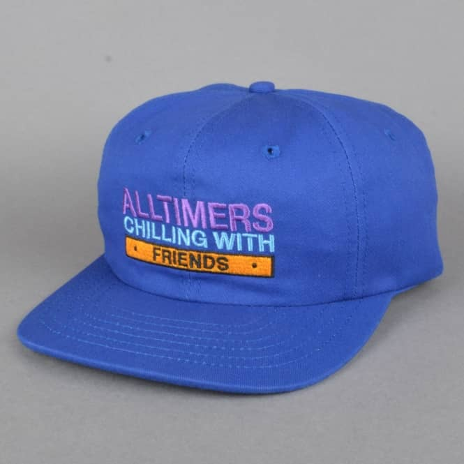 Alltimers Chilling With Friends Strapback Cap - Blue