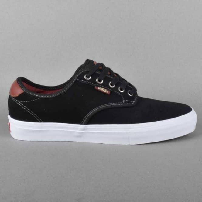 22ea06474d Vans Chima Ferguson Pro Skate Shoes - Black Mahogany - SKATE SHOES ...